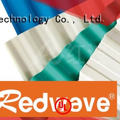 Wholesale asa lifetime pvc roofing sheets Redwave Brand