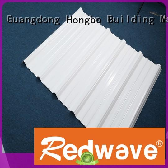 white roofing pvc roofing sheets pvc Redwave company