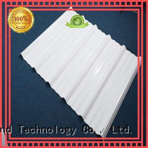 Redwave long pvc roofing sheet directly sale for scenic buildings