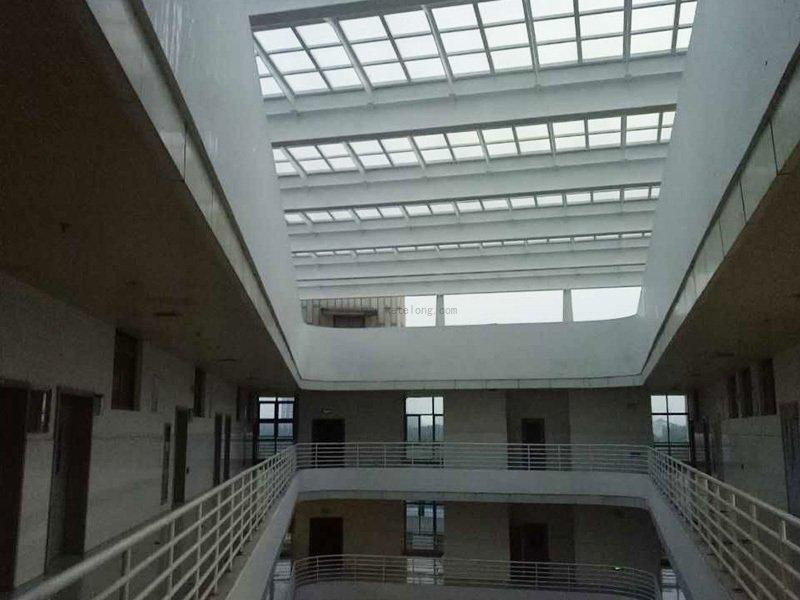 Polycarbonate solid sheet project in Foshan  ,  4.0mm  , Total 3000m2