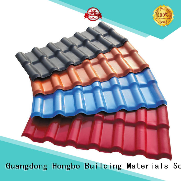 Redwave Brand 3mm 2.5mm spanish tile roof gray factory
