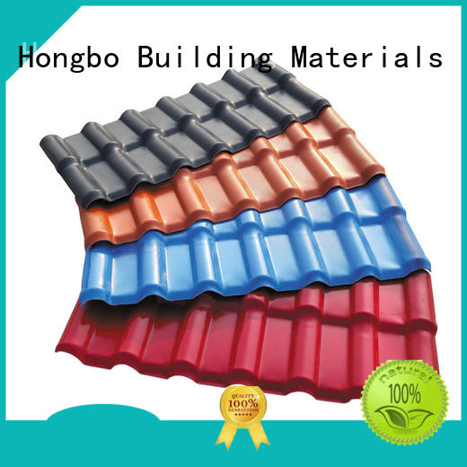 Redwave redwave plastic roofing sheets factory price for scenic buildings
