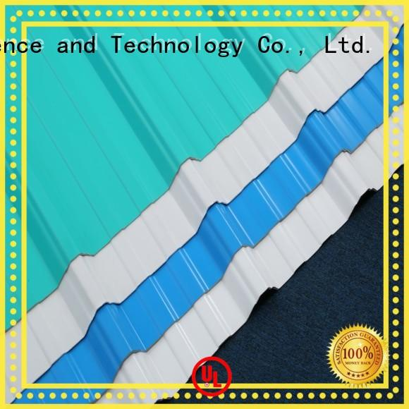 stable corrugated plastic roofing sheets upvcfrom China for workhouse
