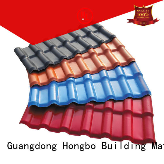 Redwave resistance synthetic resin roof tile free quote for workhouse