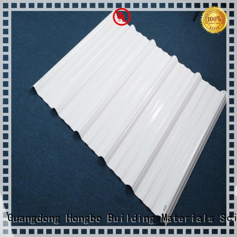 Redwave Brand corrosion asa long white pvc roofing sheets