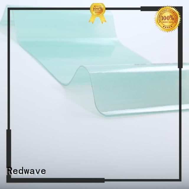 Redwave sheet factory price for scenic shed