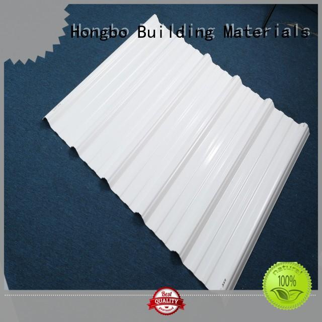 Redwave first-rate corrugated plastic roofing sheets factory price for scenic buildings
