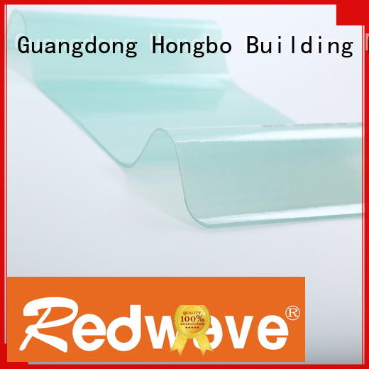 Redwave eco-friendly frp sheet in bulk for scenic shed