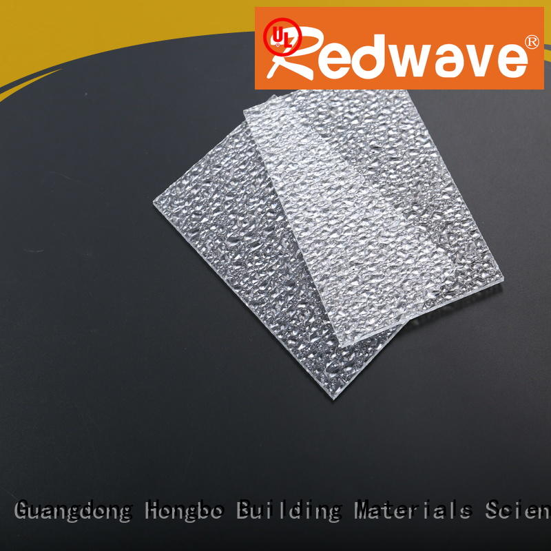 polycarbonate roof sheeting prices 1.0mm transparent ketelong Redwave Brand company