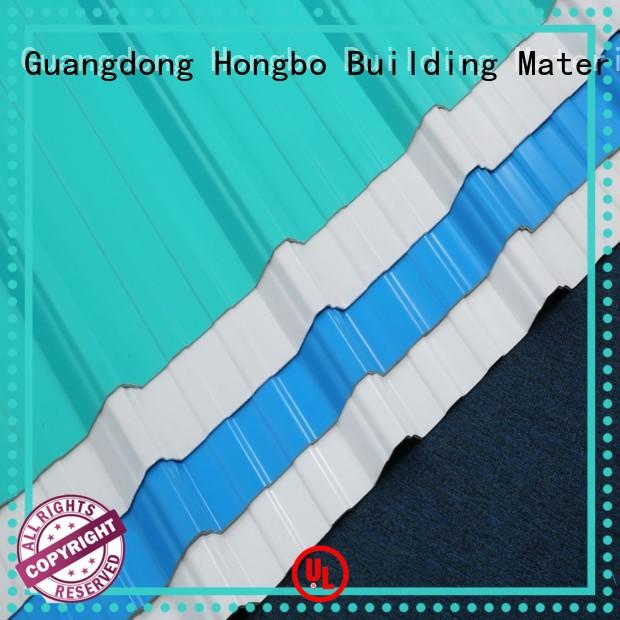 Redwave high quality corrugated plastic roofing sheets for-sale for residence