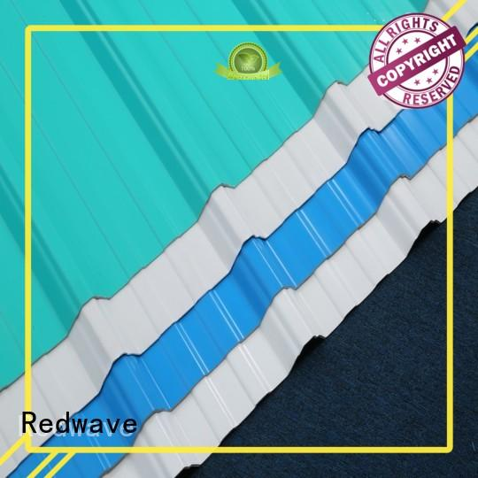 Redwave stable corrugated roofing for-sale for ocean hall