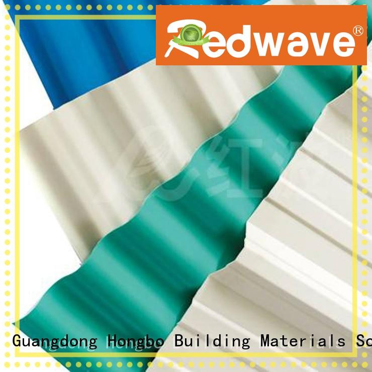 Redwave Brand heat high quality tile custom plastic roof tiles